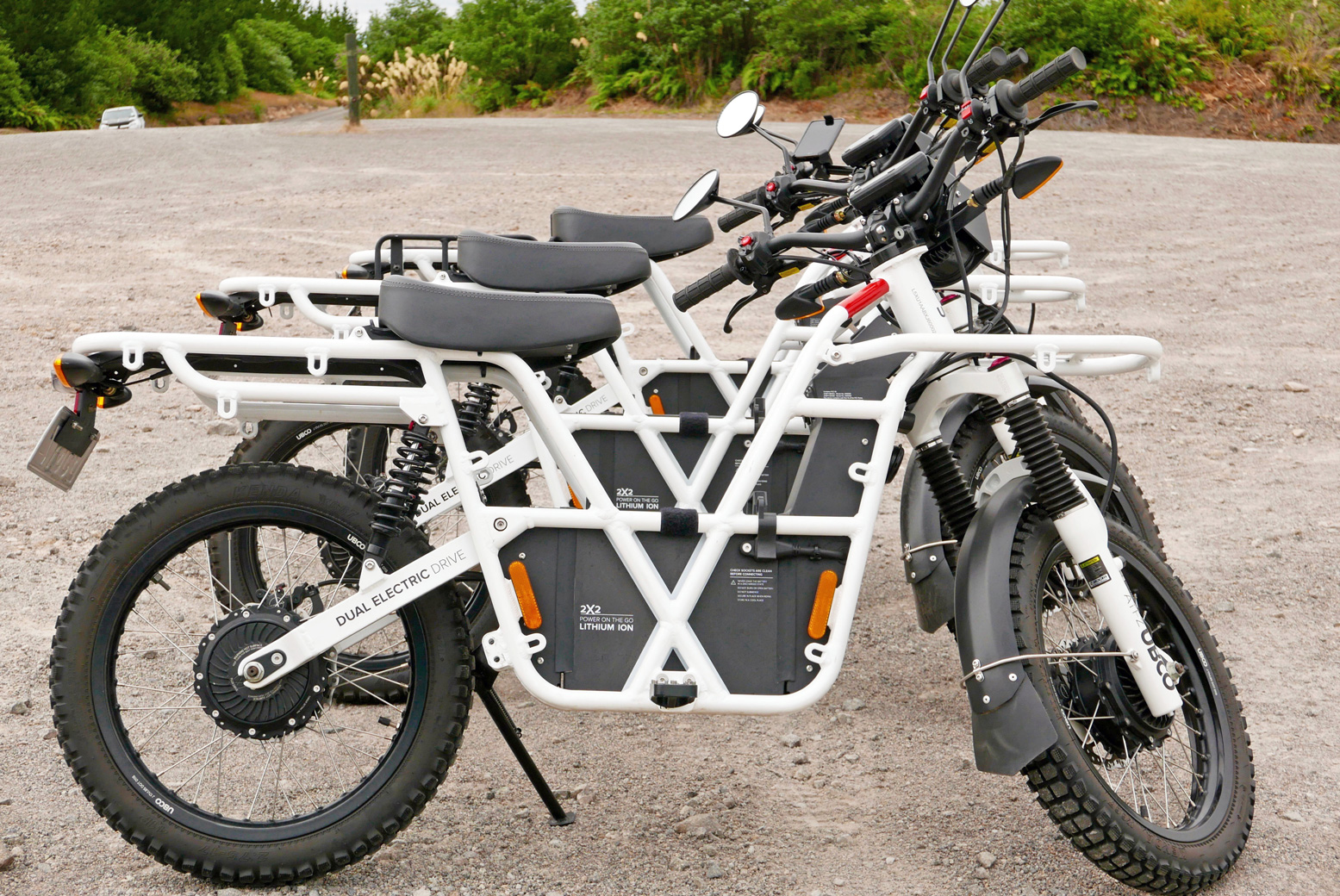 8d829a4509d UBCO stands for Utility Bike Company, founded in 2015 when the work of a  couple of creative Kiwi engineers got picked up by entrepreneur, Tim Allan  (riding, ...